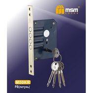 Замок врезной крестовой ключ M50KR  MSM LOCKS