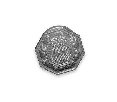 Ручка-кнопка 08-Ш-001 (серебро)