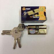 Цилиндровый механизм MSM Locks, латунь Простой ключ-ключ N70 мм