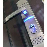 Ручка для кит.дверей KT2-CA-SN (автомат, с подсветкой) левая MSM Locks