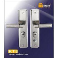 Ручка KT3 (универсальная) никель MSM Locks